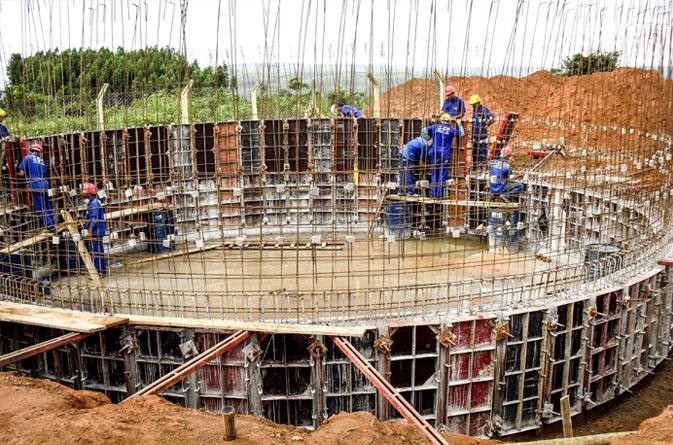 Gerenciamento, planejamento e fiscalização de obra