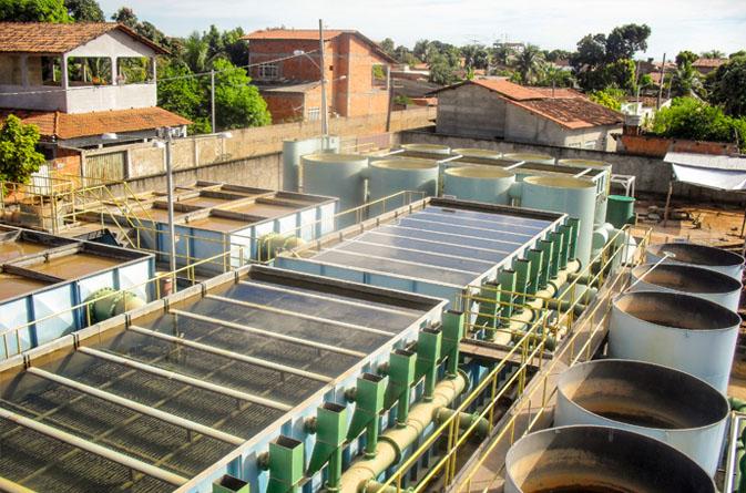 Estudos e projetos de sistema de abastecimento de água